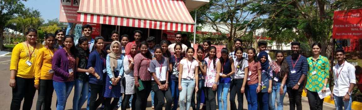 industry visit-coca-cola