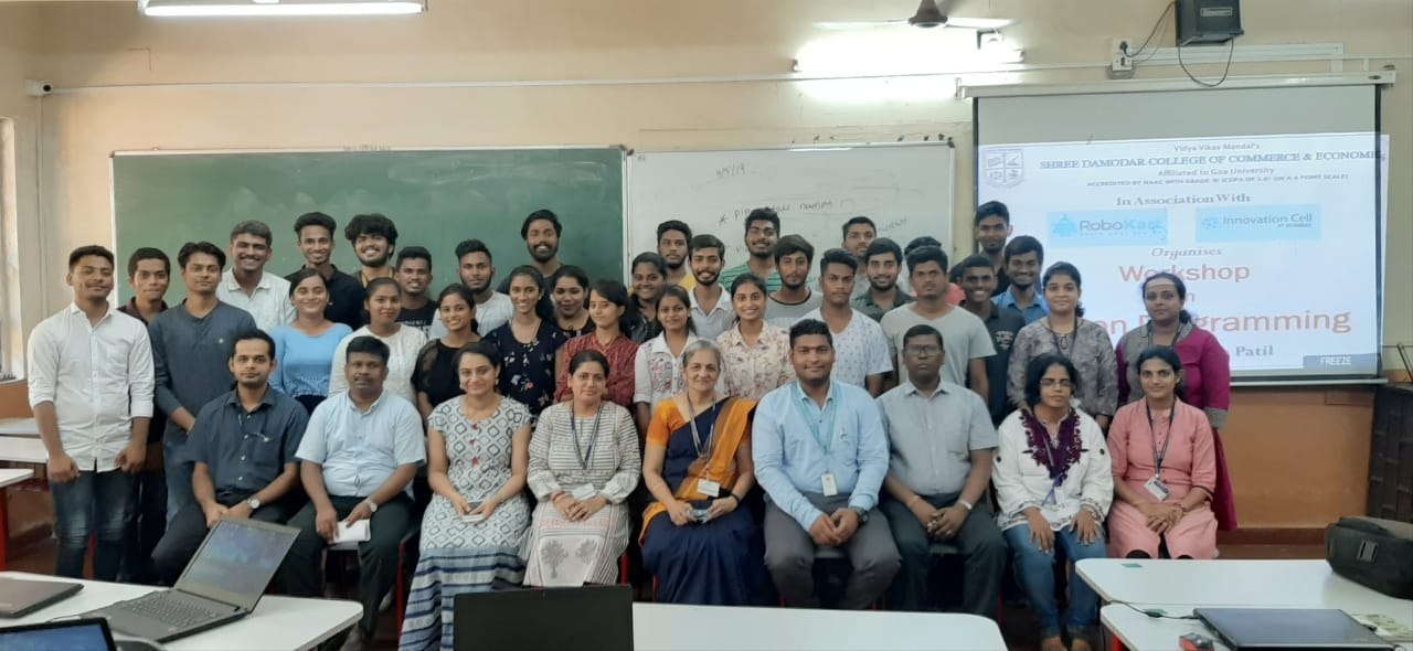 Workshop on Programming in Python - Shree Damodar College of